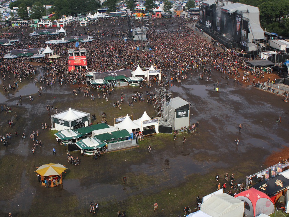 Security overview at Wacken Open Air